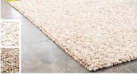 Wollhandweb-Teppich