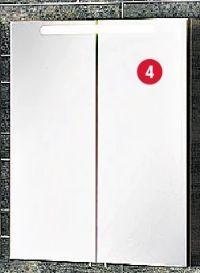 Badmöbelserie A-Vero von Fackelmann