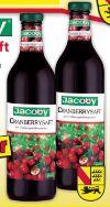 Cranberrysaft von Jacoby