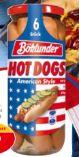 Hot Dogs von Böklunder