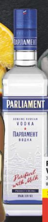 Vodka von Parliament