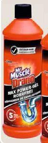 Drano Power-Gel von Mr. Muscle