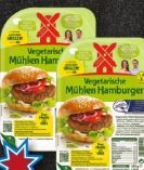 Vegetarische Hamburger von Rügenwalder Mühle