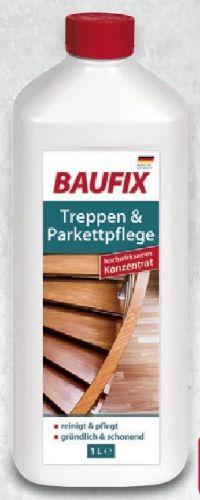 Treppen-Parkettpflege von Baufix