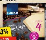 Genuss Kaffeefilter von Edeka