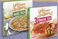 Falafel Pizza von Lekker & Anders