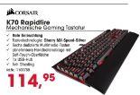 Gaming K70 RGB Rapidfire Mechanische Tastatur von Corsair