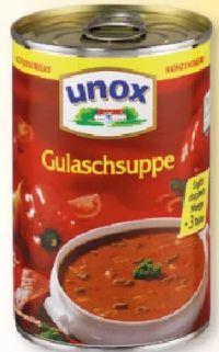 Konzentrierte Suppen von Unox