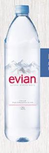 Mineralwasser von Evian