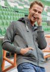 Herren Strick-Fleecejacke von Werder Bremen