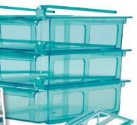 Kühlschrank-Klamm Schubladen von Gourmetmaxx