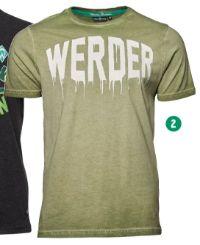Herren T-Shirt grün von Werder Bremen