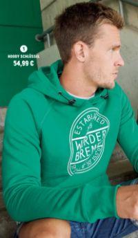 Herren Hoody Schlüssel von Werder Bremen