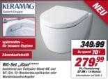 Wand-WC-Set iCon von Keramag
