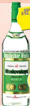 Vodka von Moskovskaya