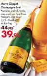 Champagner Brut von Veuve Clicquot