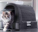 Katzentoilette  Rattan Style von Curver