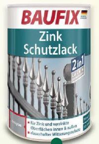 Zink-Schutzlack von Baufix