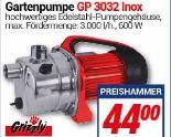 Gartenpumpe GP 3032 Inox von Grizzly