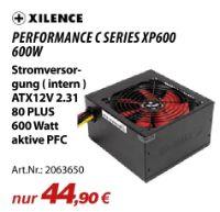 Netzteile Performance C Series XP600 von Xilence