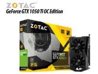 Grafikadapter GeForce GTX 1050 Ti OC Edition von Zotac