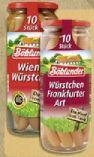 Würstchen von Böklunder