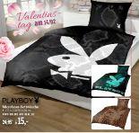 Microfaser-Bettwäsche von Playboy