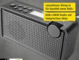 DAB+ Radio DAB 85 von Dual