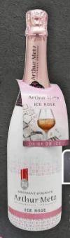 Cremant D'Alsace Ice Rose von Arthur Metz