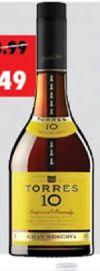 10 Imperial Brandy von Bodegas Torres