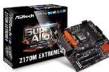 Motherboard Z170M Extreme4 von Asrock