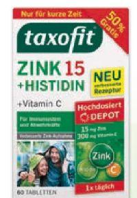 Zink + Histidin Depot von Taxofit