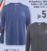 Herren Henley Shirt von Carlo Colucci