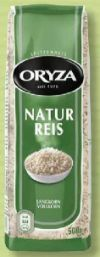 Natur Reis von Oryza