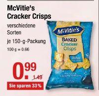 Cracker von McVities