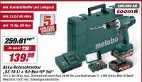 Akku-Bohrschrauber BS 18 Li + Bit-Box-SP Set von Metabo