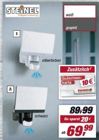 Sensor-LED-Strahler XLED Home 2 von Steinel