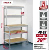 Schwerlast-Steckregal von Toom