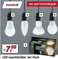 LED-Leuchtmittel von Toom