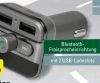 FM-Transmitter und Bluetooth-Freisprecheinrichtung FMT900BT von Technaxx