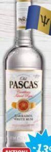 Barbados Rum White von Old Pascas