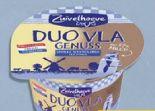 Duo Vla Pudding von Zuivelhoeve