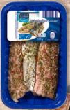 Makrelenfilets Kräuter von Golden Seafood