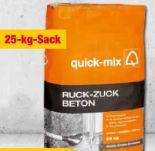 Ruck-Zuck-Beton von Quick-Mix