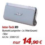 M9 Bluetooth Lautsprecher von Inter-Tech