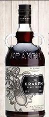 Black Spiced Rum von The Kraken
