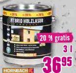 Hybrid-Holzlasur von Hornbach