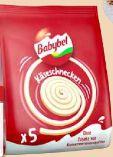 Käseschnecken von Babybel