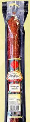 Thüringer Salami von Greußener