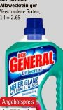 Allzweckreiniger Sprühflasche von Der General